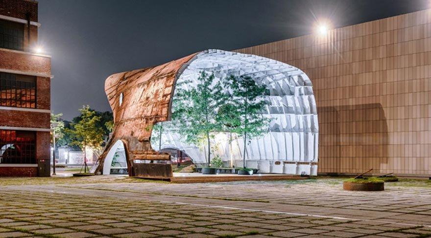 Geri dönüşüm mimarisine etkili bir örnek: 'Temp'L'