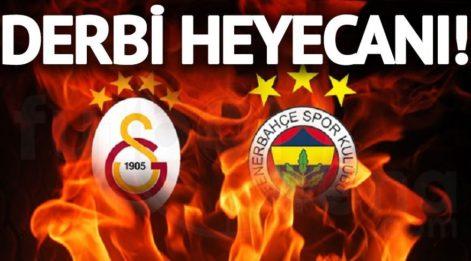 DERBİ CANLI İZLE: Galatasaray Fenerbahçe maçı izle! beIN SPORTS canlı yayın ve GS FB derbisini yayınlayacak uydu kanalları listesi!