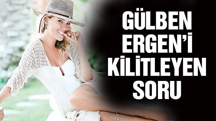 Takipçisinden Gülben Ergen'i kilitleyen soru