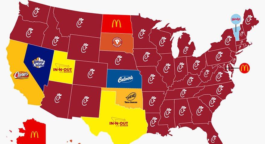 Fast-Food'un mucidi ABD en çok hangi restorana gidiyor?