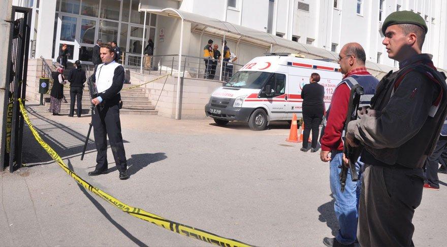 Ankara'da hastanede çatışma: Bir polis şehit