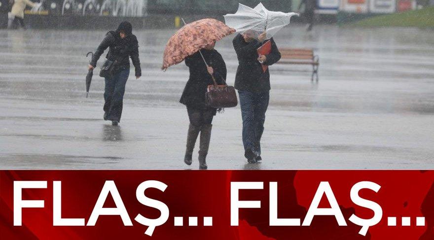 30 Ekim hava durumu: Dikkat meteoroloji kuvvetli yağış, sel ve rüzgar için uyardı!