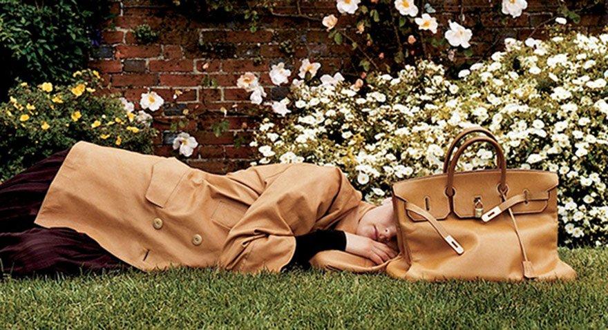Hermes'in Birkin model çantası. Fotoğraf: Hermes