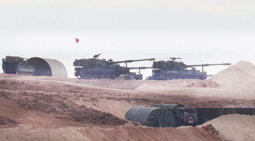 Türk askeri İdlib'te sevinçle karşılandı