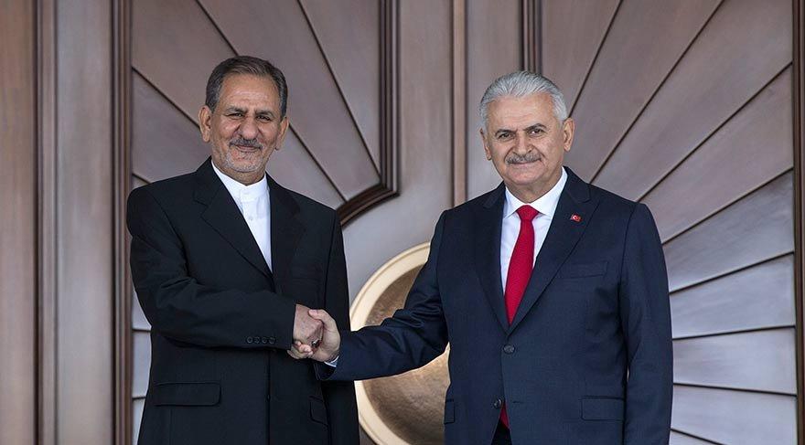 İran Cumhurbaşkanı Birinci Yardımcısı Türkiye'de