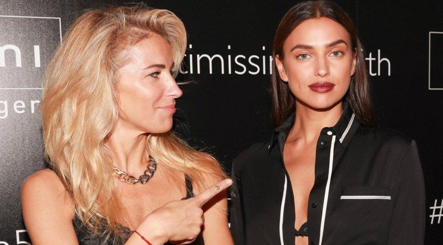 Irina Shayk ve Burcu Esmersoy New York'ta aynı açılışta!