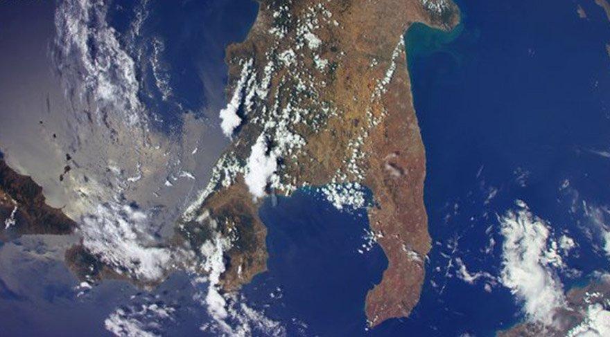İtalya coğrafyası uzaydan görüntülendi