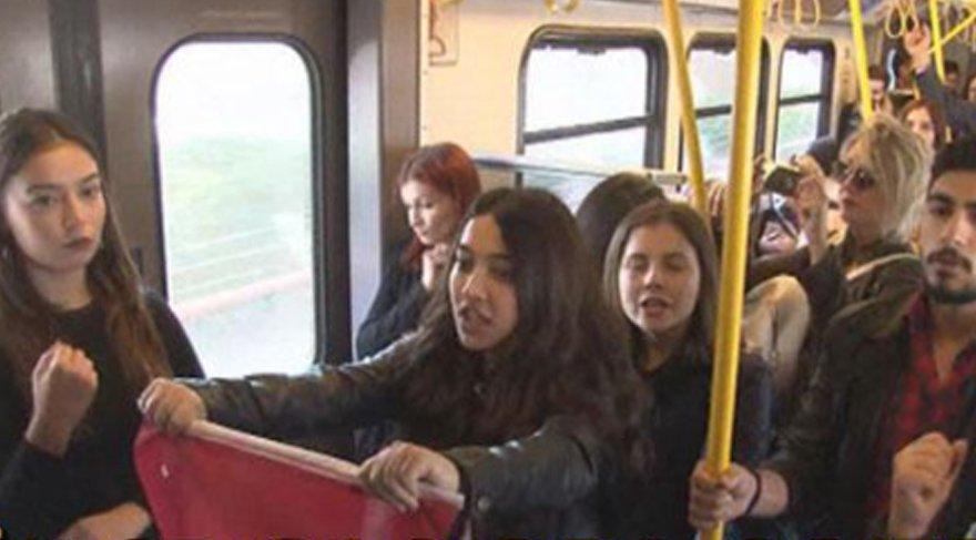 Her şey bir anda oldu: Yer İzmir metrosu