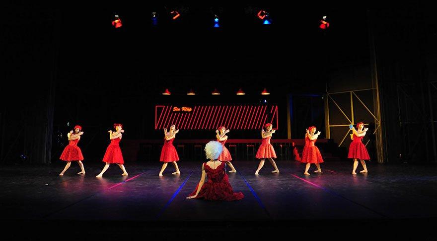 Dünyaca ünlü klasik Jizel Anadolu'ya has formla sahnede