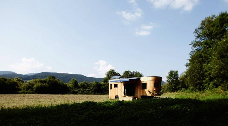Her yerde rahatça yaşamanın yolu: Karavan evler