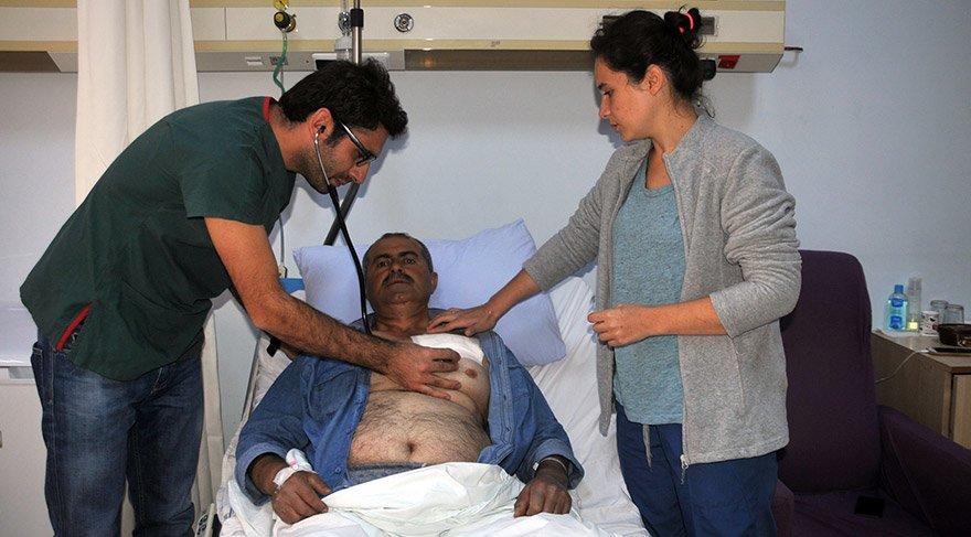 Yüksekova'da ilk kez bir hastaya kalıcı kalp pili takıldı