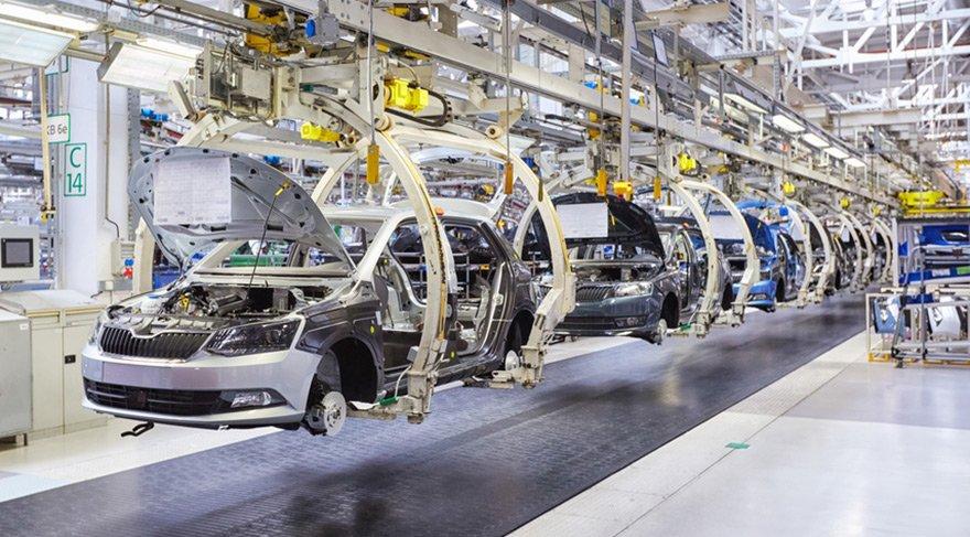 Otomotiv üretimi Eylül'de yüzde 18 arttı