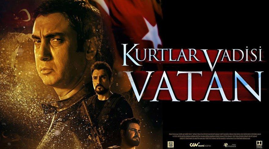 'Kurtlar Vadisi Vatan'a 'boş salon' şoku! Necati Şaşmaz filmin ortasında salonu terk etti