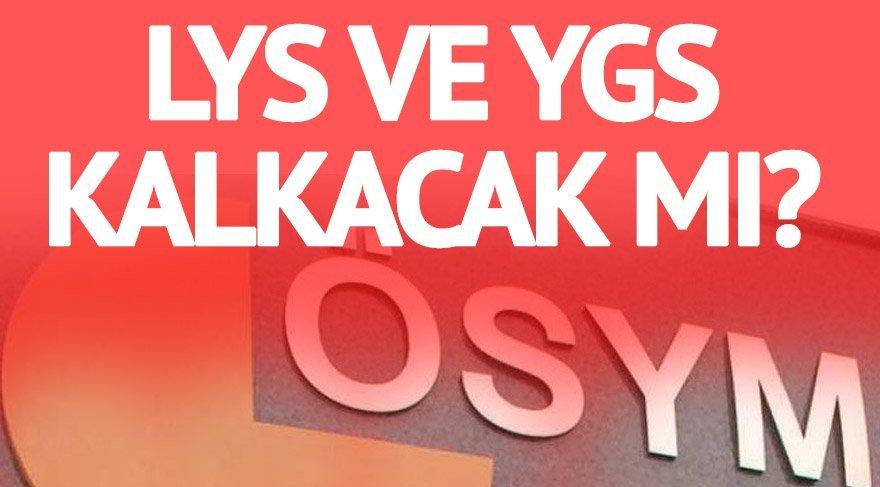 Üniversite giriş sınavında yeni sistem nasıl olacak? YGS ve LYS kalkacak mı? Yeni üniversite sınavı nasıl yapılacak?