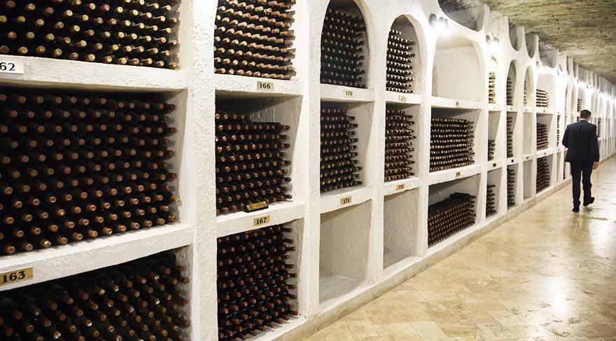 Dünyanın en büyük şarap mahzeni
