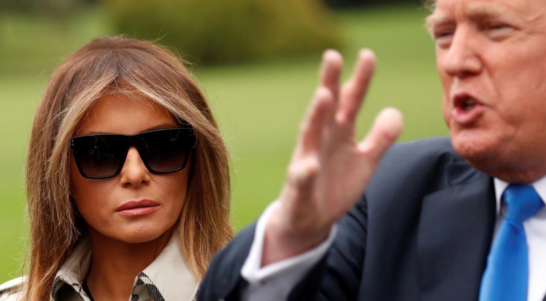 Melania Trump dublör mü kullanıyor?