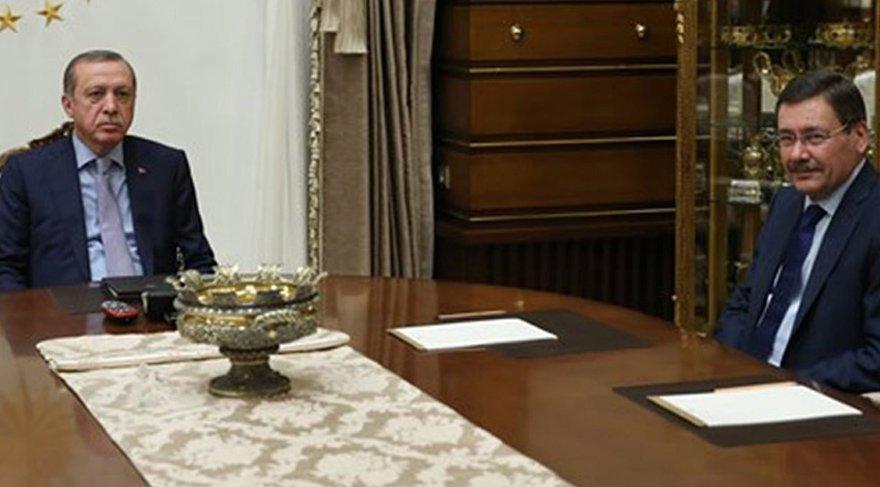 FOTO:İHA- Cumhurbaşkanı Erdoğan, geçtiğimiz hafta Melih Gökçek ile görüşmüştü.