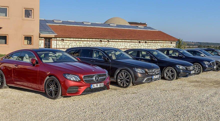 Mercedes'in yeni E serisi ailesi tanıtıldı