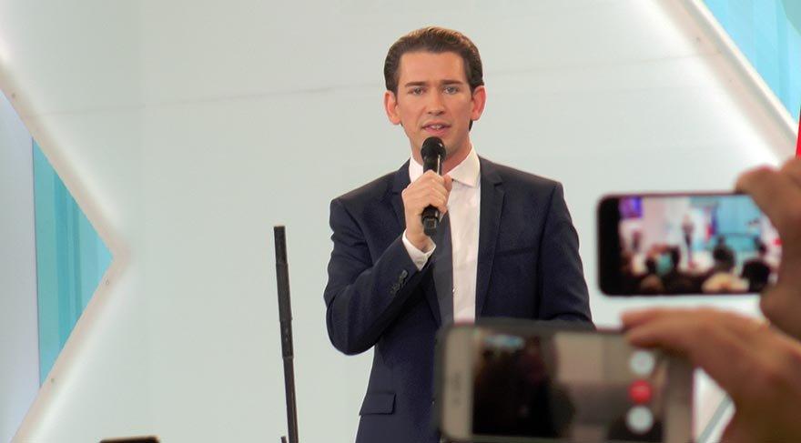 Avusturya'daki seçimlerde Dışişleri Bakanı Kurz'un partisi ilk sırada yer aldı