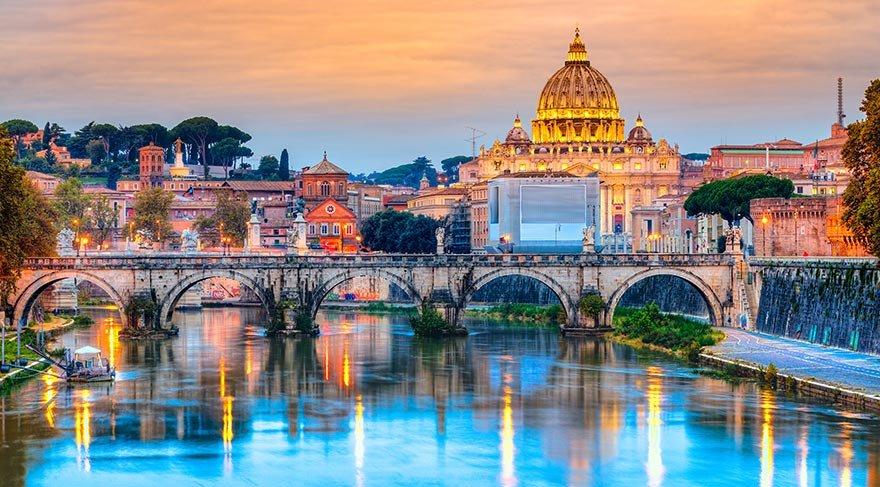 Tarih ve sanat kokan şehir: Roma