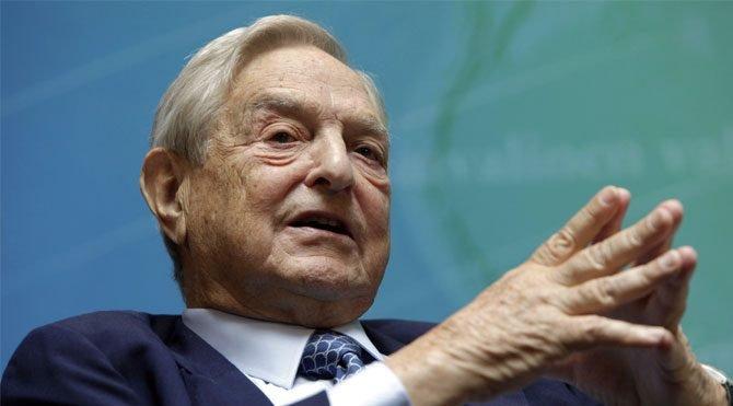 Soros kendi vakfına dünyaları bağışlamış