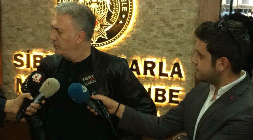 Tamer Karadağlı polise teşekkür etti