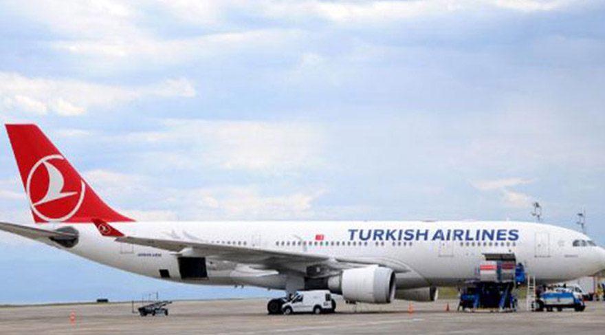 THY uçağında ilginç olay! Fotoğraf çekince uçak geri döndü
