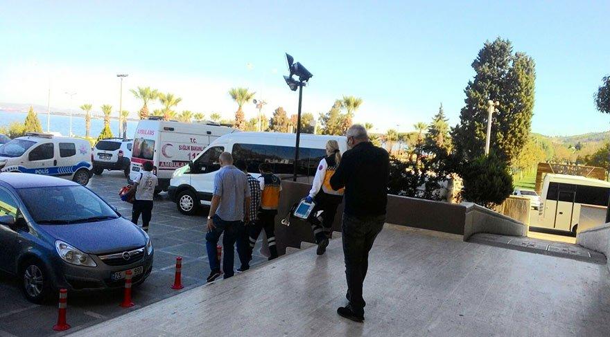 TÜPRAŞ'taki patlamayla ilgili gözaltına alınan 7 kişi adliyede
