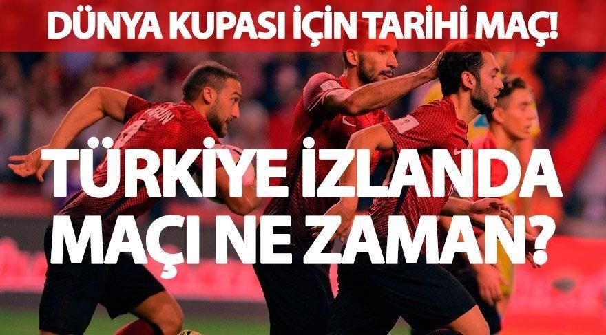 İşte ilk 11'ler…Türkiye İzlanda maçı saat kaçta hangi kanalda? Milli maç için geri sayım başladı! Dünya Kupası Elemelerinde Milliler gruptan nasıl çıkar?