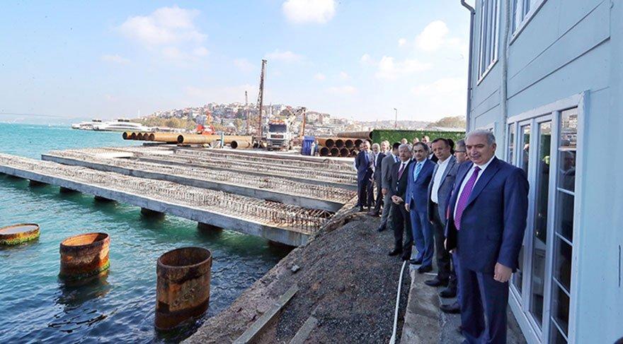 İstanbul'un yeni başkanından Topbaş'a taş