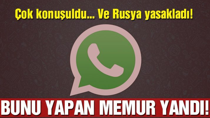 WhatsApp'da kimlerle konuştuğunuzu gösteren hata!