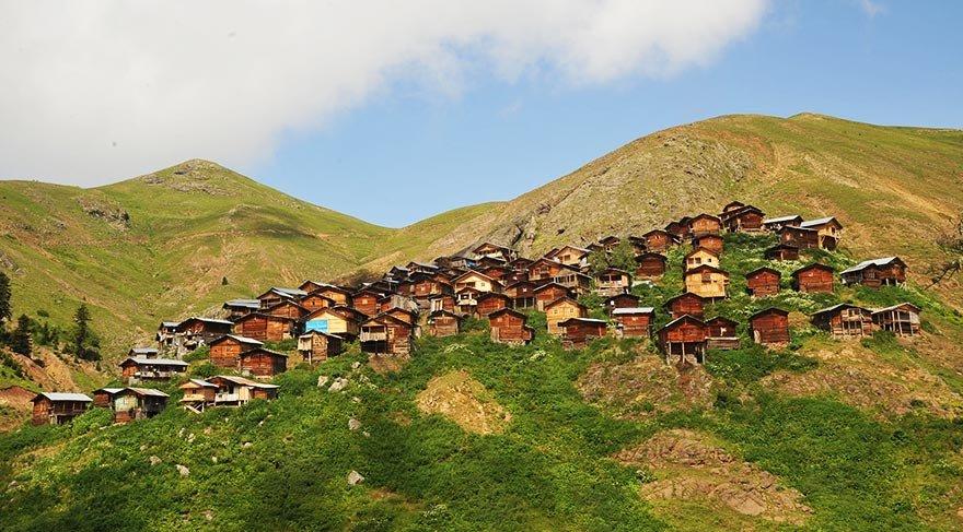 Doğu Karadeniz'in en sıra dışı yaylası: Yanıklı Köyü Yaylası