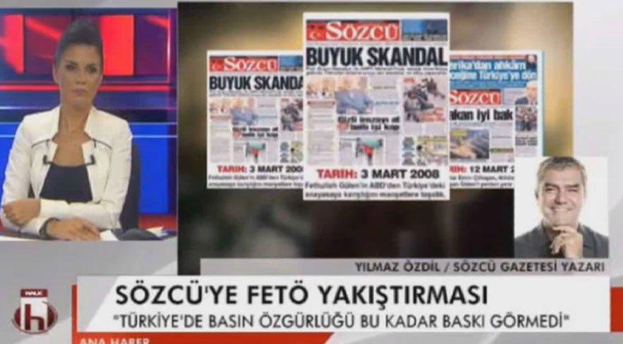 Yılmaz Özdil'den HalkTV'de SÖZCÜ iddianamesine ilişkin önemli açıklamalar