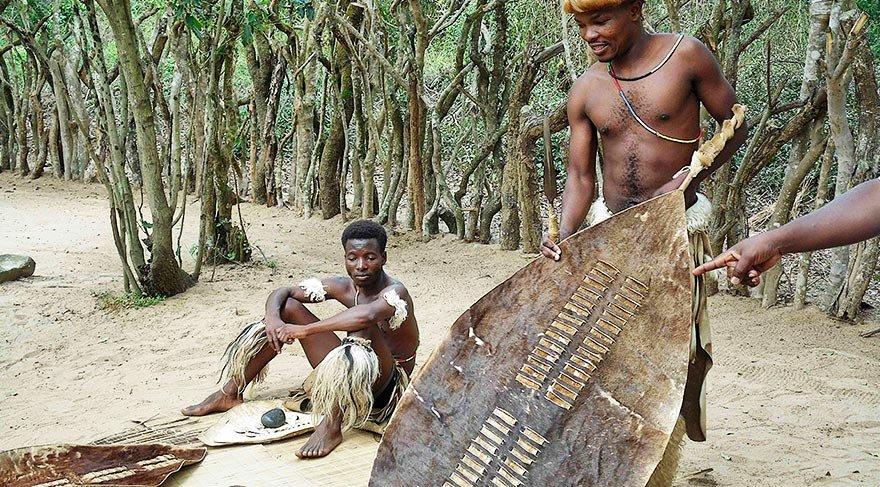 Güney Afrika'nın Zulu kabilesi