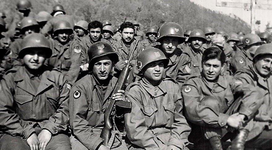 Kore'deki kahraman Türk askerleri...
