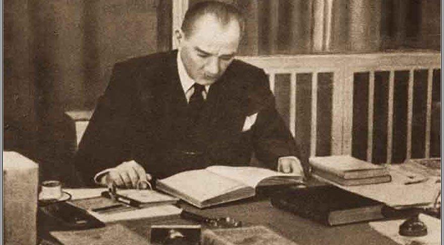 Atatürk'ü Atatürk yapan temel özelliklerden biri çok okumasıydı.