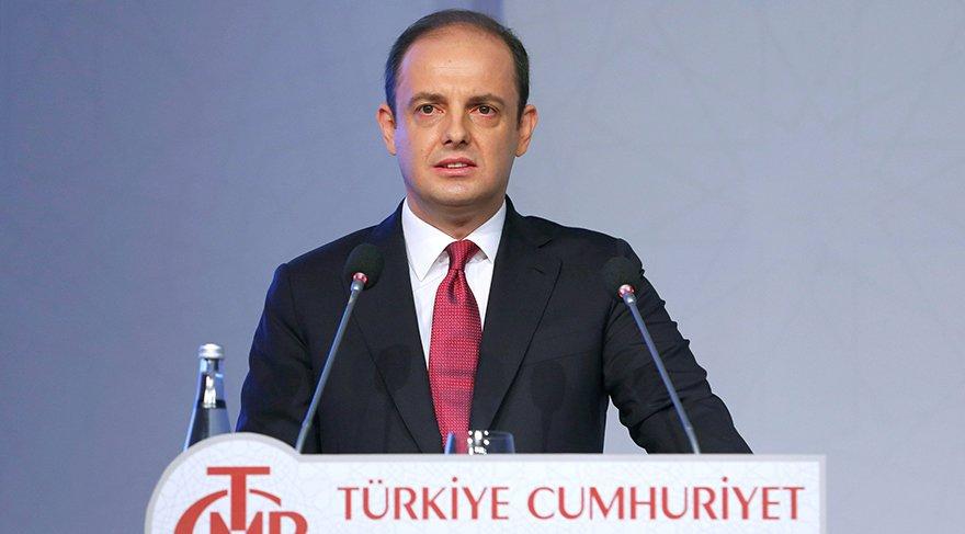 Türkiye Cumhuriyeti Merkez Bankası Başkanı Murat Çetinkaya