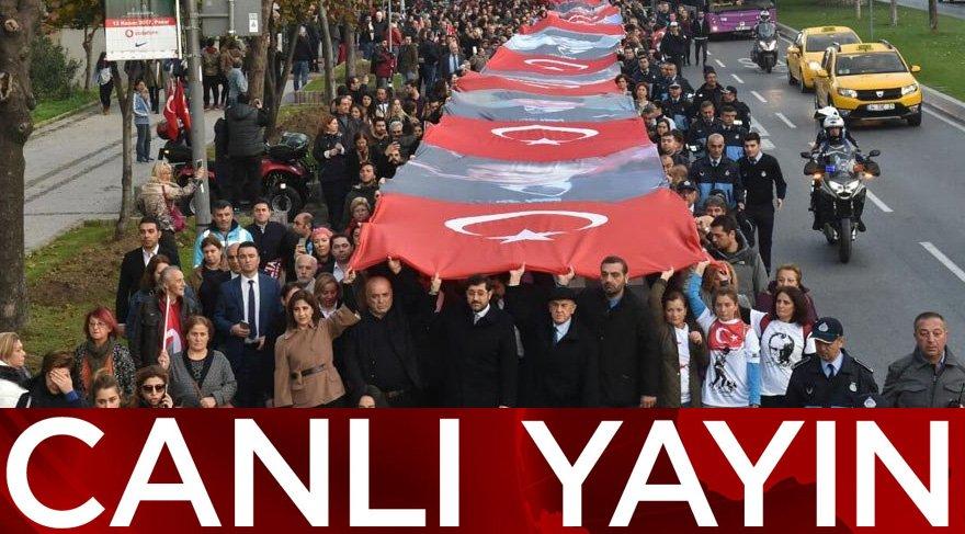 Atatürk'ü anıyoruz… Canlı yayın…
