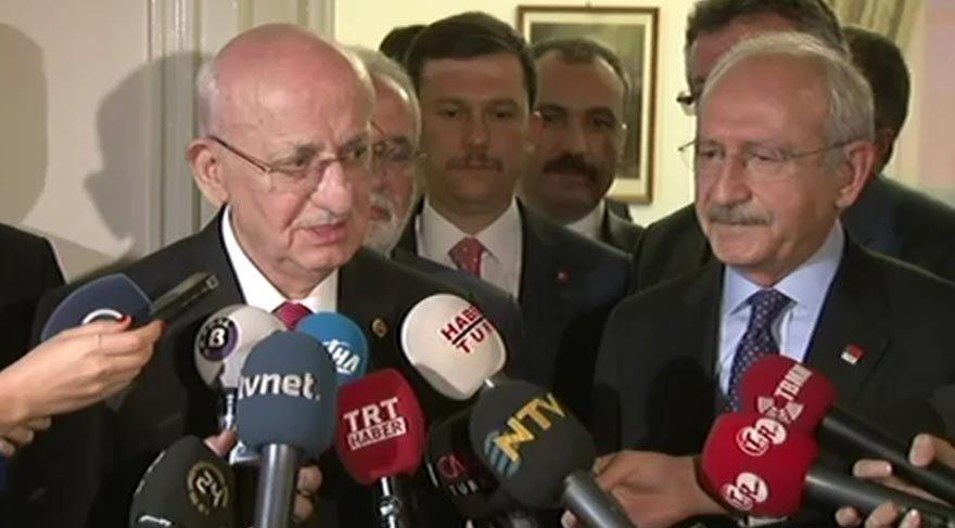 Meclis Başkanı Kahraman'dan Kılıçdaroğlu'na ziyaret!