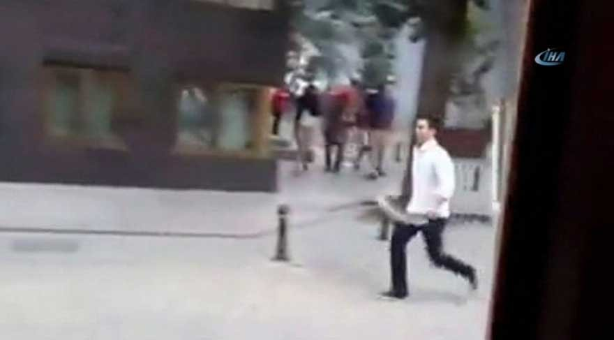 'Palalı saldırgan' ayağından vuruldu