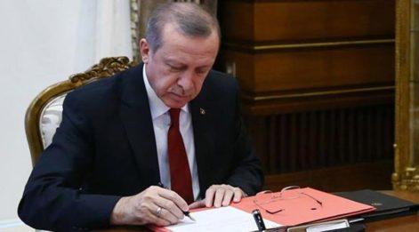 Cumhurbaşkanı Erdoğan'dan 4 üniversiteye yeni rektör!