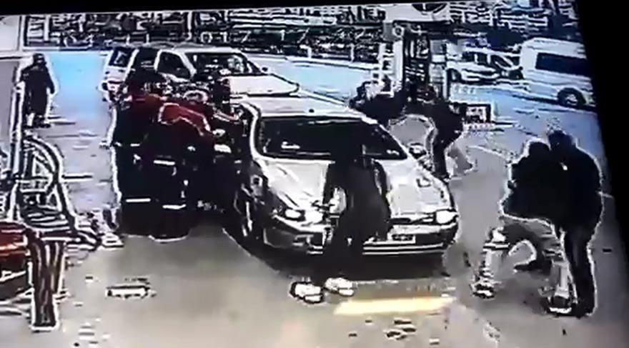 Başkent'te maganda dehşeti! Gazileri hastanelik ettiler