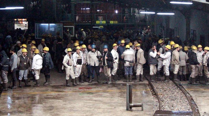 3 bin işçi protesto için madenden çıkmıyor!