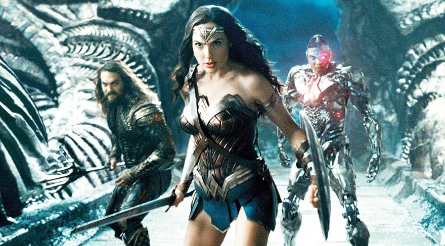 Adalet Birliği Yönetmen: Zack Snyder Oyuncular: Ben Affleck, Henry Cavill, Gal Gadot Süre: 121 dakika / 7+