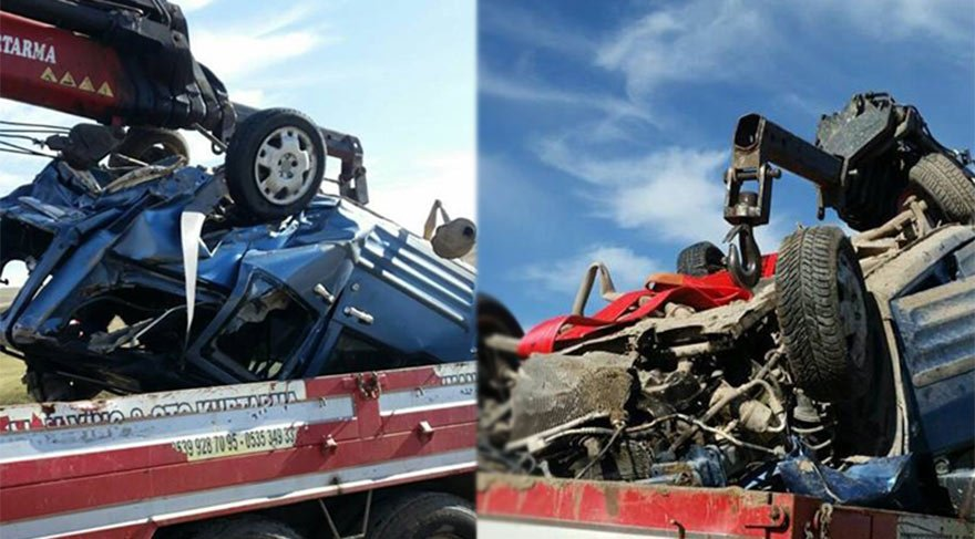 Ağrı'da kaza: 2 ölü