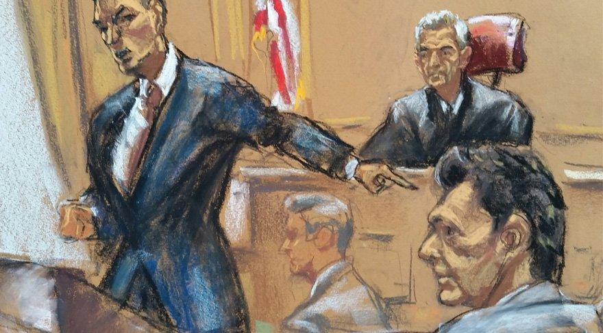İddia makamındaki savcı, dünkü duruşmada, jürinin bulunduğu tarafa dönüp
