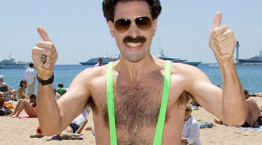 Borat mayosu krizi! Turistler gözaltına alındı