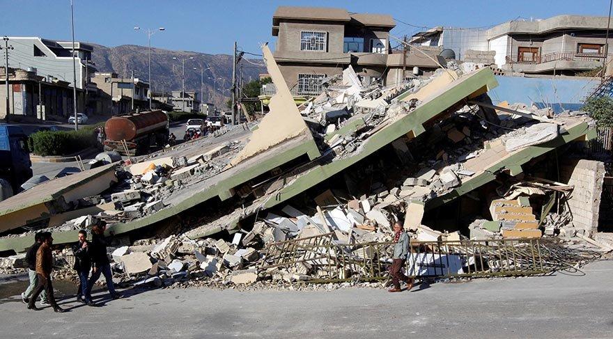 Depremin ağır bilançosu: en az 530 ölü