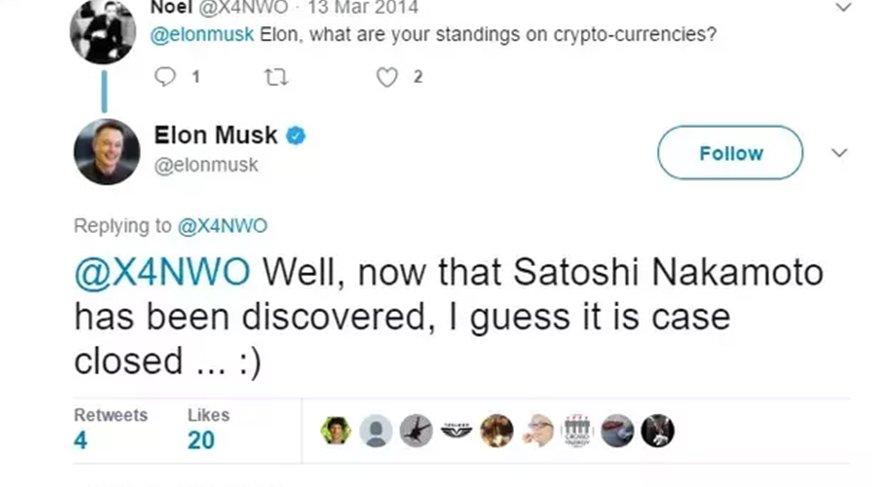 Musk'ın Twitter üzerinde paylaştığı yazı iddialara temel oluşturuyor.