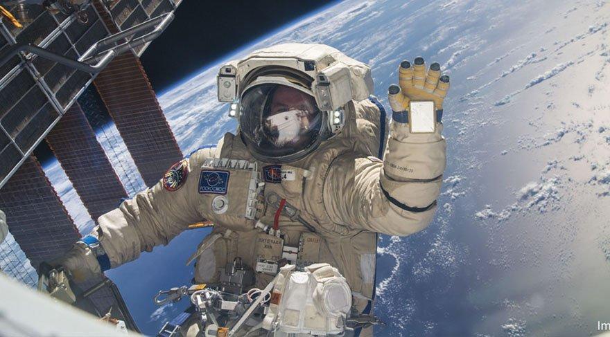 NASA astronotu uzay yürüyüşü yaptı
